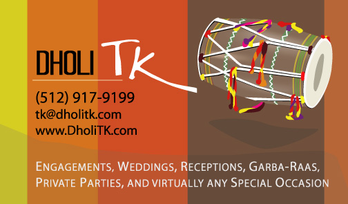 Dholi TK - Dhol Player and Drummer from Dallas, Texas